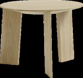 Maya bijzettafel puur hout